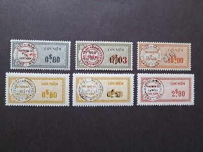 S.Vietnam 1960 - South Vietnam revenue Overprint CHMNVN in a Double Ring - VF