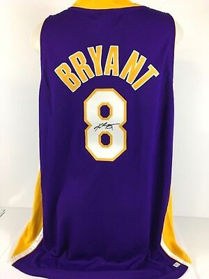 huge discount 69b5b 0404c KOBE BRYANT SIGNED Autographed NIke AUTHENTIC Lakers Jersey Number 8  PSA/DNA ITP