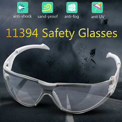 Clear Anti-UV Protective Glasses Windproof Goggles Working Safety Eyes Wear