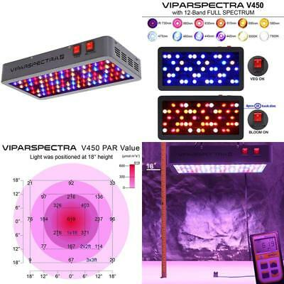 Viparspectra Reflector-Series 450W Led Grow Light Full Spectrum For Indoor...