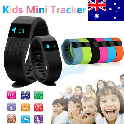 Fitness Band Pedometer Watch Bracelet Kids Sports Activity Tracker
