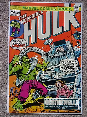 THE INCREDIBLE HULK No. 185 March 1975