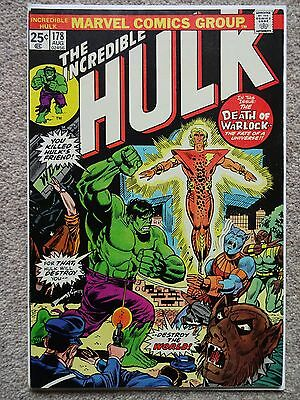 THE INCREDIBLE HULK No. 178 August 1974