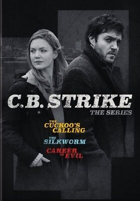 C.B. Strike: The Series (DVD,2018)