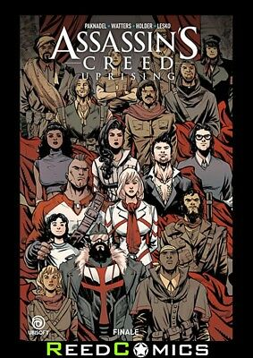 ASSASSINS CREED UPRISING VOLUME 3 FINALE GRAPHIC NOVEL Paperback Collects #9-12