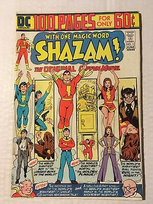 Shazam 100 Page Issues #12 & 17, DC Comics (1974 & 1975), Movie