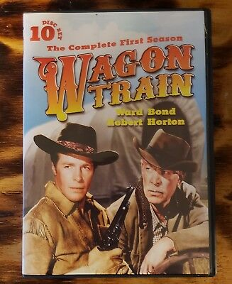 Wagon Train: The Complete First Season (DVD, 2012, 10-Disc Set)