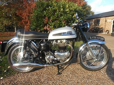 Norton 650 Ss, 1966, Matching Numbers, A Very Nice Twin In Lovely Condition.