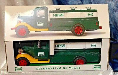 2018 Hess Truck Very Limited Special Edition 85Th Anniversary