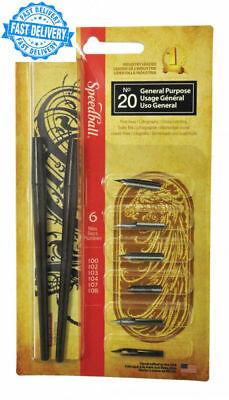 Speedball 2967 - No 20 General Purpose Dip Pen Set