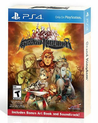 Grand Kingdom Launch Day Edition! (PlayStation 4) BRAND NEW & FACTORY SEALED ps4