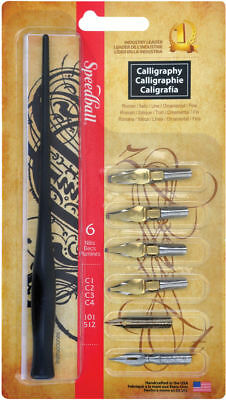 Speedball 2961 - Calligraphy Dip Pen Set