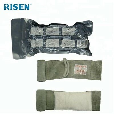 "5 pcs 6"" Israeli Bandage Emergency Trauma Wound Dressing Military Type NEW"