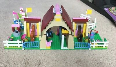 Lego Friends Heartlake Stables 3189 100 Complete With Box And