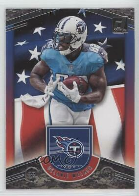 1e4044cdf 2018 Panini Donruss Glory  G-7 Delanie Walker Tennessee Titans Football Card