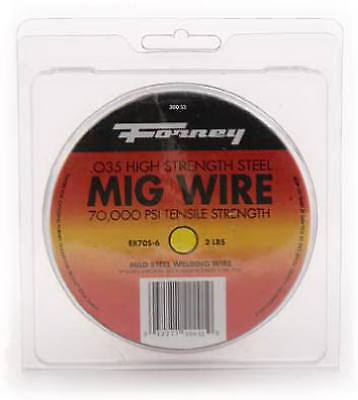 FORNEY INDUSTRIES INC 2-Lb., .035-Diameter Flux Corded MIG Wire 42302