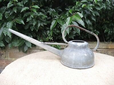 6  Pint Vintage Galvanised  Metal Watering Can  (902 )