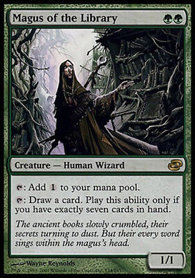 MTG Magic The Gathering CHINESE Magus of the Library Planar Chaos Near Mint