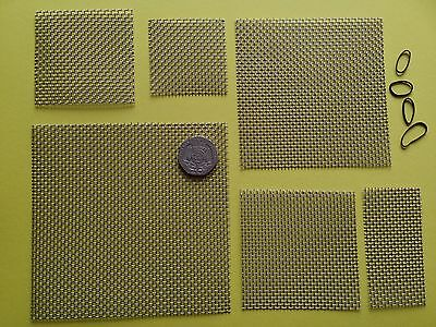 1 x Stainless Steel Wire Mesh Pad - Aquarium Fish Tank Plants / Moss - Java
