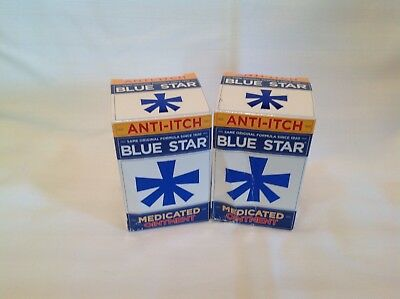 Blue Star Ointment For Ringworm Itching 2 Oz Pack Of 3 22 37