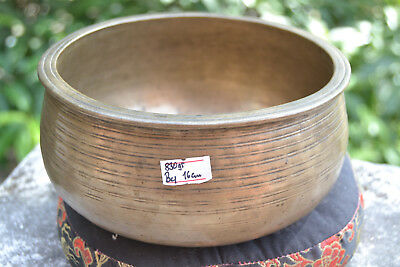 "Old Antique Tibetan Singing Bowl  6,2"" 7 metals handmade Nepal Amazing sound"