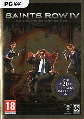 Saints Row IV 4 Game of the Century Edition ALL DLCs PC STEAM KEY GLOBAL, No DVD