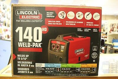 Lincoln Electric K2514-1 140 Amp Weld Pak 140 HD MIG Wire Feed Welder