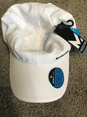 Mission Enduracool Instant Cooling Performance Hat Cap white