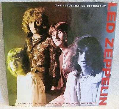 New - Led Zeppelin - The Illustrated Biography - Hardcover Book - Great Gift!!