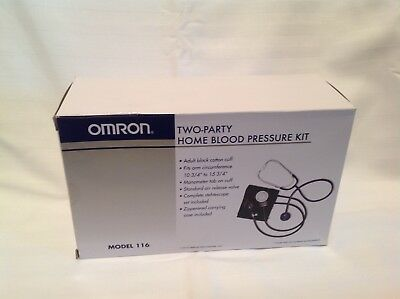 Omron Two-Party Home Blood Pressure Kit Model 116 BRAND NEW IN BOX