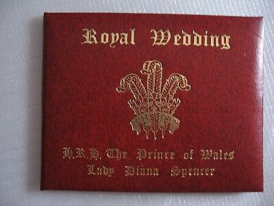 23ct Charles and Dianna Royal Wedding Limited Edition Gold Stamp 1981