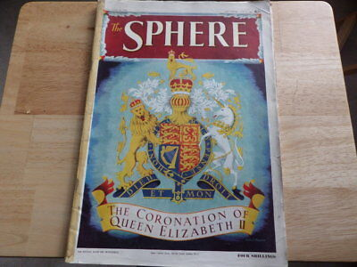 THE SPHERE JUNE 6th 1953 THE CORONATION OF QUEEN ELIZABETH II  VOL CCXIII 2782