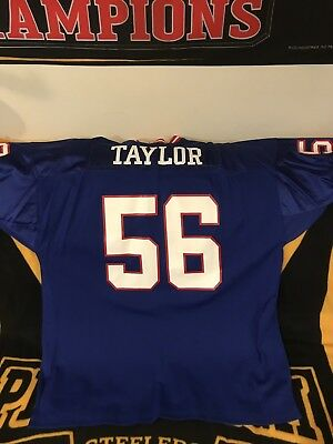 NEW YORK GIANTS Lawrence Taylor Mitchell   Ness THROWBACK Jersey Size 60 0a09ca78a
