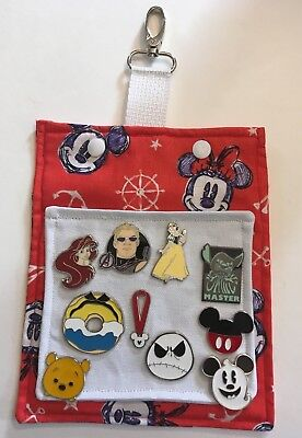 Mickey and Minnie Mouse! Hip Lanyard for Disney Pin Trading! Cruise and Travel!