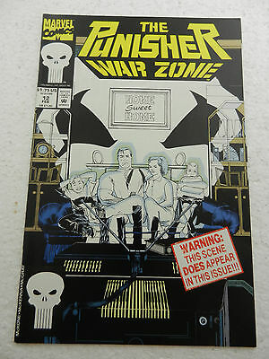The Punisher War Zone #12 1992 NM 9.4 First Print Marvel Comics