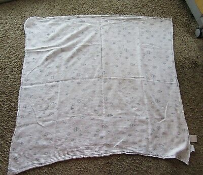 Aden + Anais 100% Cotton Muslin Swaddle Blanket Large Size Hot Air Balloons