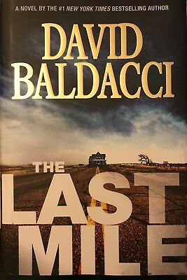 THE LAST MILE - David Baldacci - 2016 /  NEW HARDCOVER WITH D/J