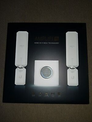 **Perfect Condition Ubiquiti AmpliFi HD Mesh Wi-Fi System NBN Ready FTTP FTTN**