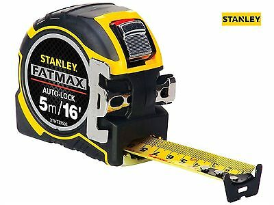 Stanley FatMax Autolock 5m 16ft Metric/Imperial Tape Measure 32mm Wide Magnetic