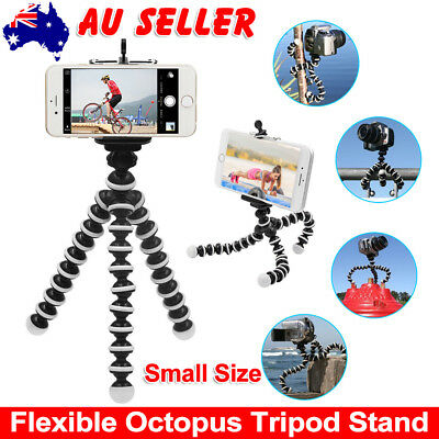 Universal Flexible Octopus Tripod Stand Gorilla Pod For Phone GoPro Camera DSLR