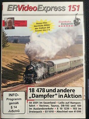 DVD ER Video Express 151 / Eisenbahn Romantik /Rio Grande Video /gebraucht