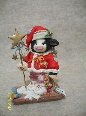 Believe!  - Cow Figurine