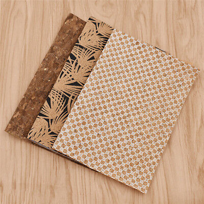 A4 SYNTHETIC LEATHER Velour Fabric Sheet DIY Handbag Sewing Material