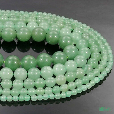 Natural Green Aventurine Stone Round Beads 15.5'' 2mm 3mm 4mm 6mm 8mm 10mm 12mm