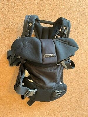 Stokke 3 in 1 baby carrier, black, good condition