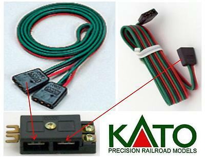 KATO 21-503 CABLE Cm.40 POWER SUPPLY for 21-506 connector for EXCHANGE ELECTRIC
