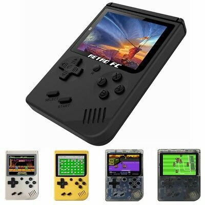 168 games Retro Portable Mini Handheld ABS Game Console Game Player 3'' Screen