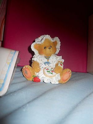 "Cherished Teddies 156337 Jenna ""You're Berry Special to Me"" 1995  NIB"