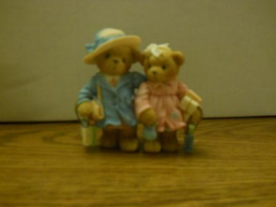 "Cherished Teddies 789631 Patty & Peggy ""Spending Time with You.. "" 2000  NIB"