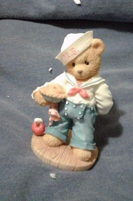 "Cherished Teddies 202444 U.S.A. ""Our Friendship is from Sea..."" 1996   NIB"